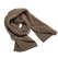 スカーフ<br>The Scarf in Oatmeal Alpaca: Product Image