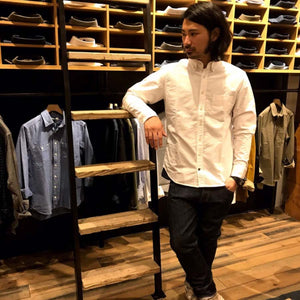 ジャック<br>The Jack in White Everyday Oxford