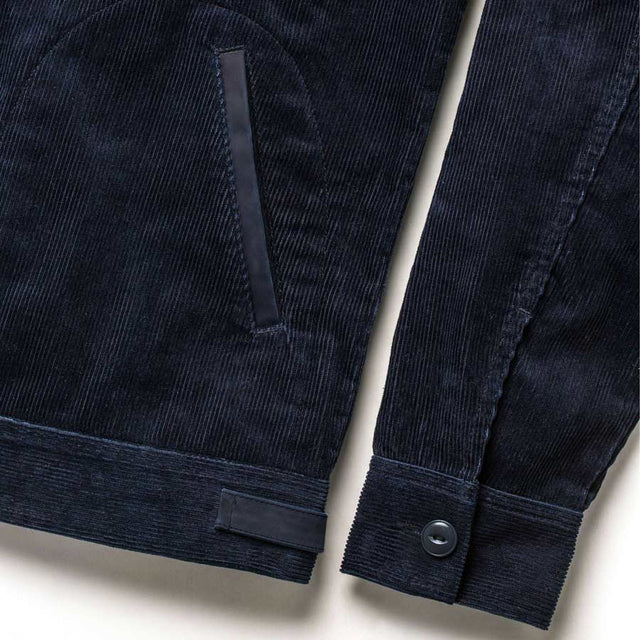 ピストンジャケット<br>The Piston Jacket in Indigo Corduroy