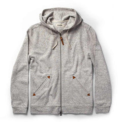 アプレフーディー<br>The Apres Hoodie in Natural Hemp Stripe