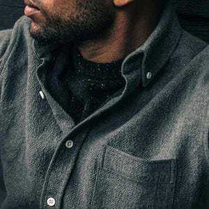 【ウィンターセール】<br>ジャック<br>The Jack in Charcoal Double Cloth
