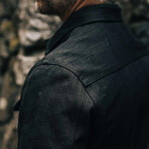 ロングホールジャケット<br>The Long Haul Jacket in Black Selvage