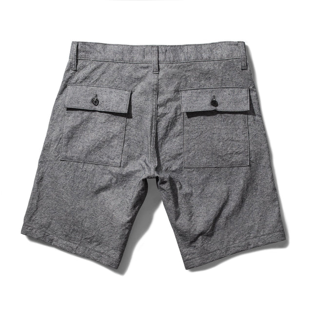 キャンプショートパンツ<br>The Camp Short in Slub Chambray