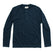ヘビーバッグヘンリー<br>The Heavy Bag Henley in Navy: Product Image