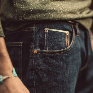 デモクラティックジーンズ<br>The Democratic Jean in '68 Organic Selvage