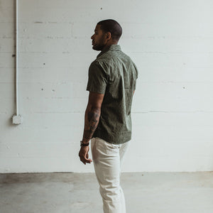 ショートスリーブカリフォルニア<br>The Short Sleeve California in Raindrop Camo
