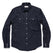 【ウィンターセール】<br>グレーサーシャツ<br>The Glacier Shirt in Navy Nep Twill: Product Image