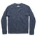 フィッシャーマンズセーター<br>The Fisherman Sweater in Navy Melange: Product Image