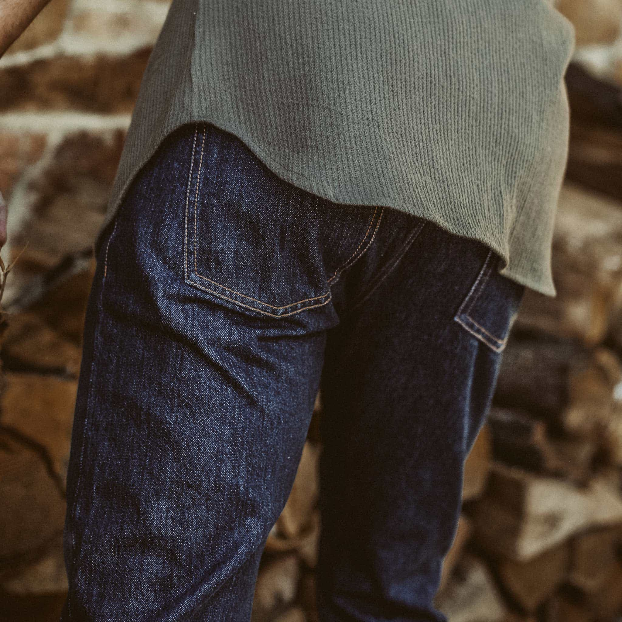 スリムジーンズ in 3 Month Rinse Selvage