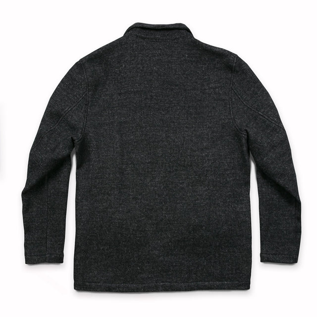 サブマリナージャケット<br>The Submariner Jacket in Charcoal Wool Blend
