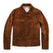 モトジャケット<br>The Moto Jacket in Tobacco Weatherproof Suede: Product Image