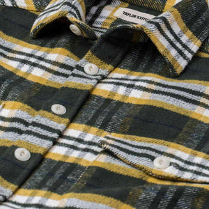 クレーターシャツ<br>The Crater Shirt in Green Plaid