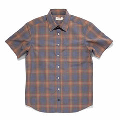 ショートスリーブカリフォルニア<br>The Short Sleeve California in Melange Plaid