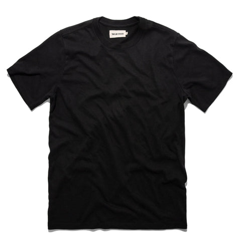 トリブレンドT<br>The Triblend Tee in Black - alternate view