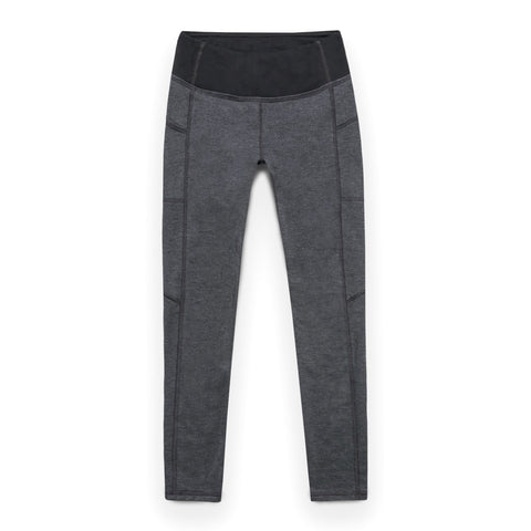 ハーパーレギンス<BR>The Harper Legging in Indigo Melange Fleece - alternate view