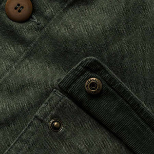 プロジェクトジャケット<br>The Project Jacket in Olive Boss Duck