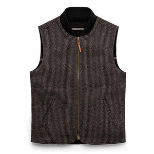 エイブルベスト<br>The Able Vest in Wool Beach Cloth
