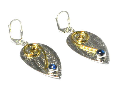 KYANITE Sterling Silver 925 Gemstone Earrings