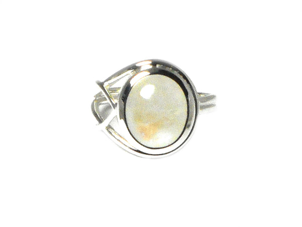 MOONSTONE Sterling Silver 925 Gemstone Ring