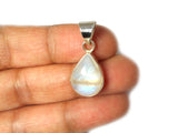 Teardrop MOONSTONE Sterling Silver 925 Gemstone Pendant