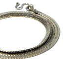 Sterling Silver 925 Snake chain Necklace - (SNL3107151)