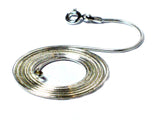 "22""(56 cm) Sterling Silver Snake Necklace - 1.2 mm"