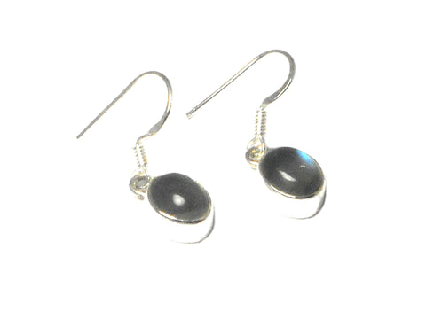 LABRADORITE Sterling Silver Gemstone Earrings
