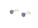 Australian Opal Sterling Silver 925 Gemstone Earrings / STUDS - 6 mm