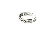ADJUSTABLE 925 Sterling Silver TOE Ring (TR1609168) - Gift Boxed