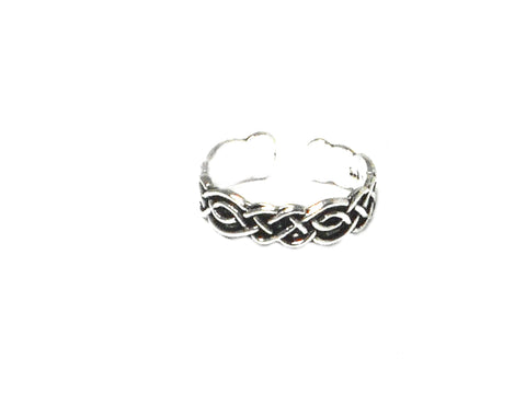 sterling silver 925 toe ring