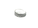 ADJUSTABLE 925 Sterling Silver TOE Ring (TR16091615) - Gift Boxed