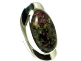 EUDIALYTE Sterling Silver 925 Gemstone Ring - Size P