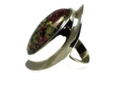 EUDIALYTE Sterling Silver 925 Gemstone Ring - Size P - (EDR2505171)