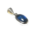 KYANITE Sterling Silver 925 Oval Gemstone Pendant