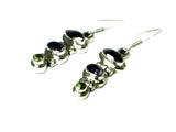 MULTISTONE Sterling Silver 925 Gemstone Earrings - (MSE1207175)