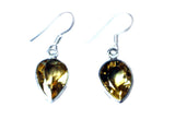 CITRINE Sterling Silver Gemstone Earrings 925 - (CTE1207172)