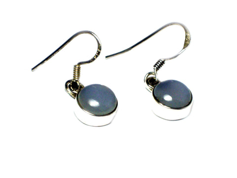 CHALCEDONY Sterling Silver 925 Gemstone Earrings