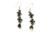 CITRINE Sterling Silver Gemstone Earrings 925 - (CTE1807173)