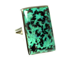 Tibetan TURQUOISE Sterling Silver 925 Gemstone Ring - Size O