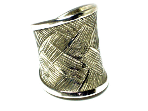 Adjustable Sterling Silver 925 Ring