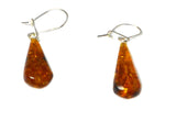 Baltic AMBER Sterling Silver Gemstone Earrings 925 - (AMBE0507171)