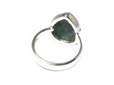 Adjustable MALACHITE Sterling Silver 925 Gemstone Ring - (MLR0507171)