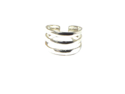 ADJUSTABLE 925 Sterling Silver TOE Ring