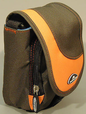 Camera Case/Bag for Nikon Coolpix L810 L820 L830L310 L320 L610, Brown/Orange NEW