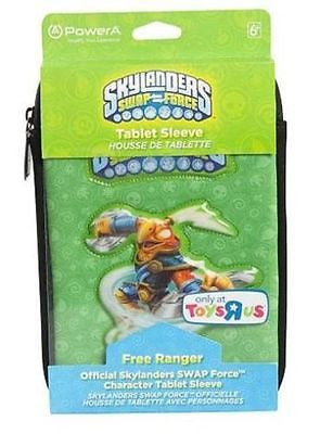 "SKYLANDERS SWAP FORCE FREE RANGER TABLET COVER SLEEVE POUCH CASE 7"" INCH GREEN"