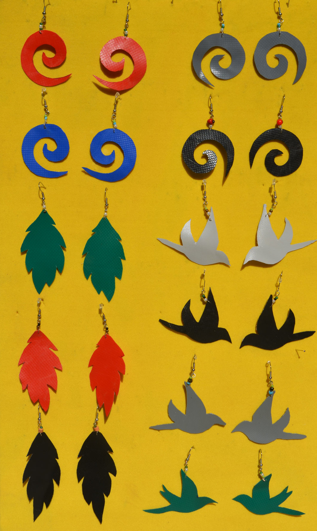 Earrings From Dinghy Boat