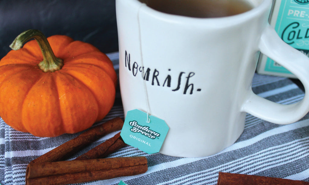 Pumpkin Spice Sweet Tea Recipe