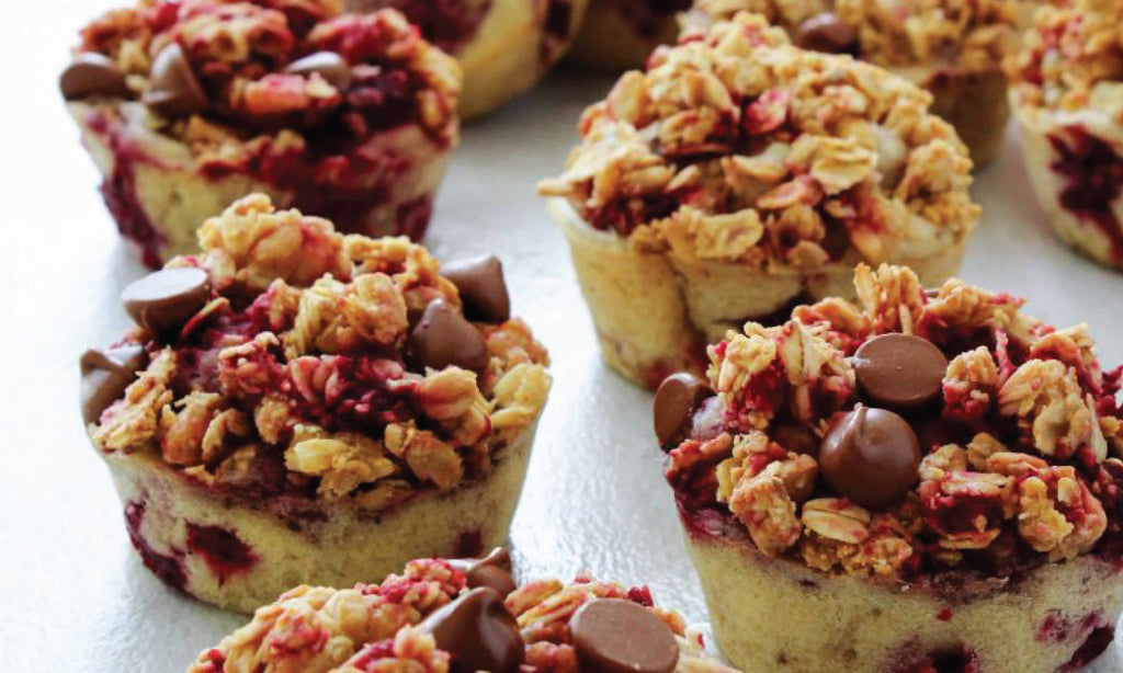 Raspberry Sweet Tea Breakfast Muffins Recipe