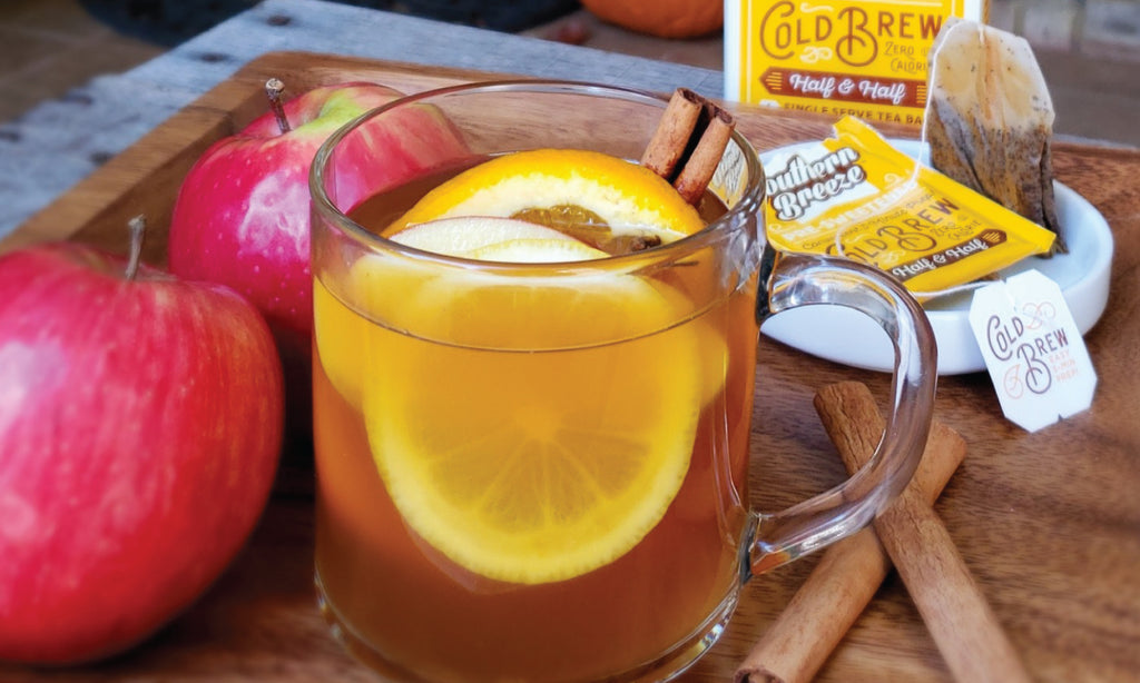 Mulled Sweet Tea Apple Cider Recipe