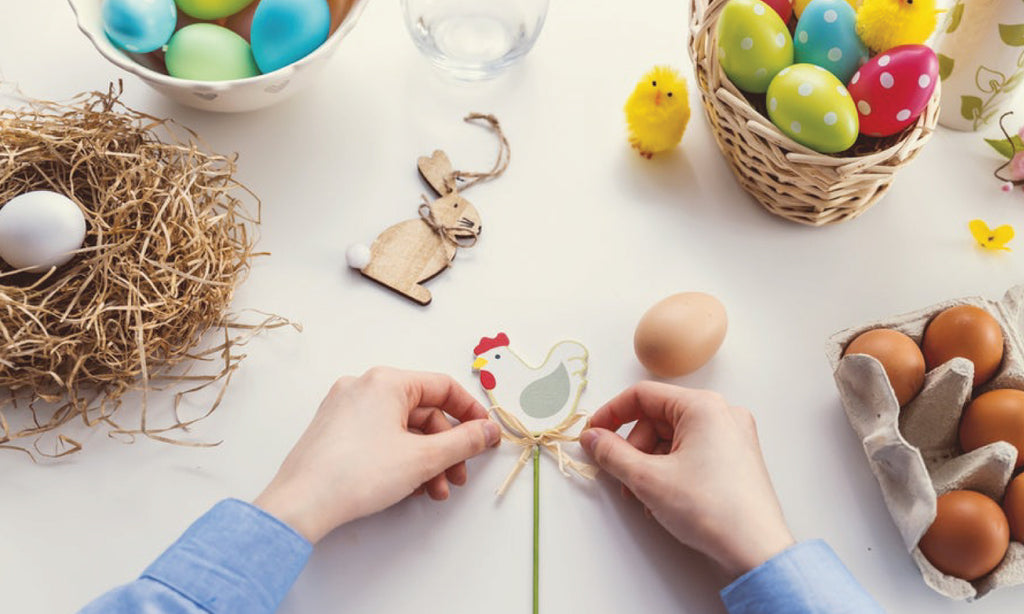 Traditional Southern Easter Basket How-to